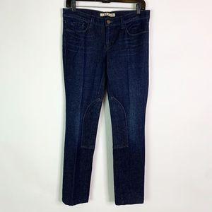 J Brand Jeans Women's 29 Suzuki Dark Wash Moto Rid